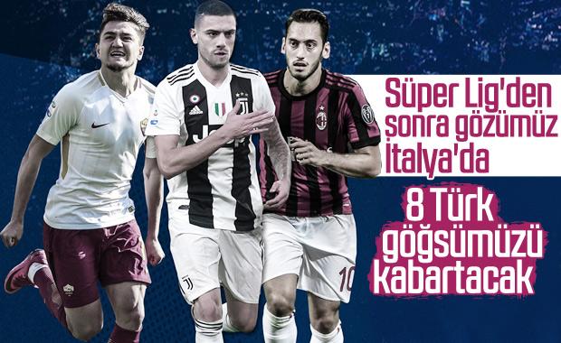 Serie A'da ilk kez 8 Türk mücadele edecek