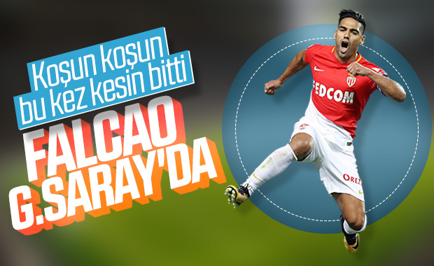 Radamel Falcao Galatasaray'da