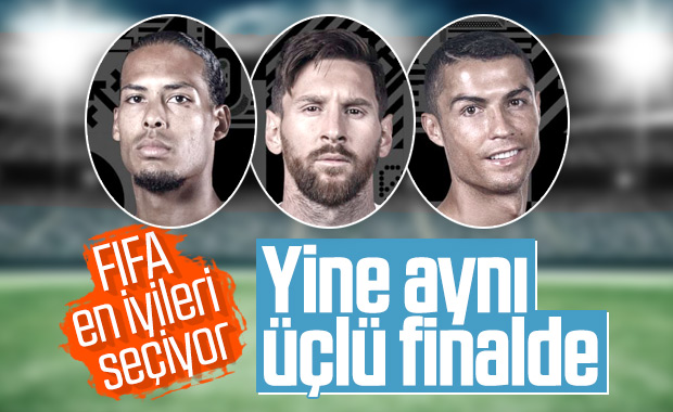 FIFA yılın ödüllerinde finalistler belli