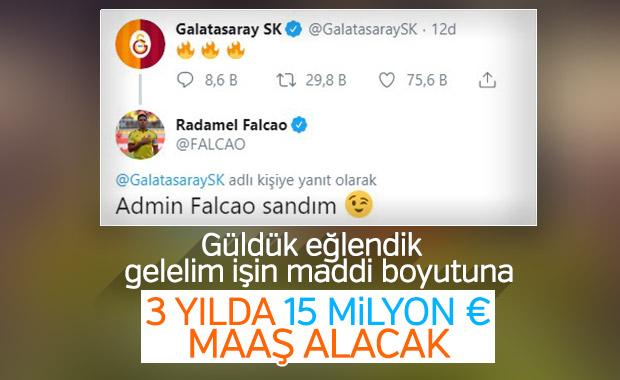 Galatasaray, Falcao transferinin detaylarını açıkladı