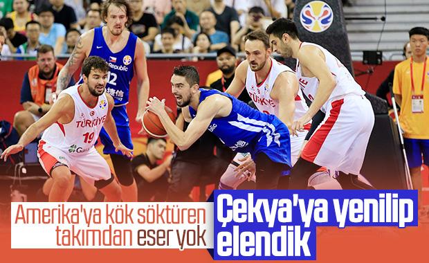 A Milli Basketbol Takımımız, Dünya Kupası'ndan elendi