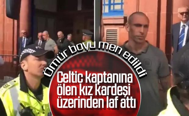 Celtic kaptanına laf atan Rangerslı futboldan men edildi
