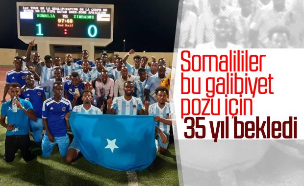 Somali 35 yıl sonra maç kazandı