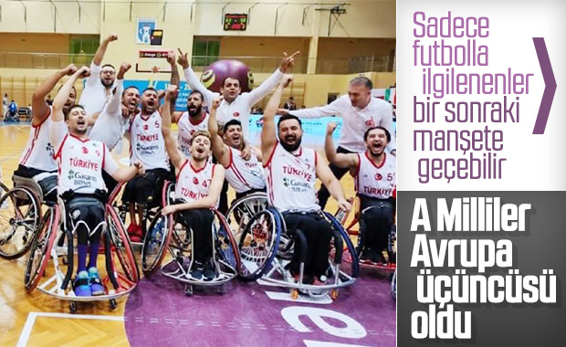 Tekerlekli Sandalye Basketbol Milli Takımımız 3. oldu