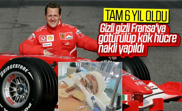 Schumacher kök hücre nakli için Fransa'da