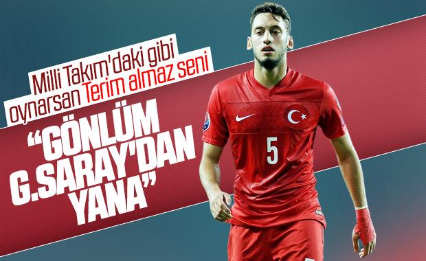 Hakan Çalhanoğlu: Galatasaraylıyım