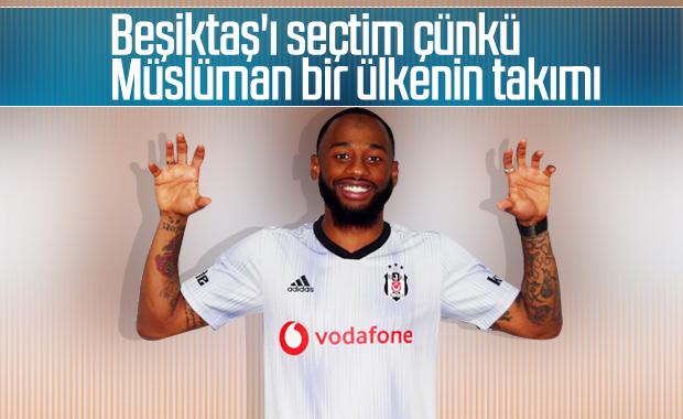 N'Koudou Beşiktaş'ı neden tercih ettiğini anlattı