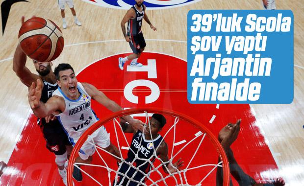 Fransa'yı yenen Arjantin finale yükseldi