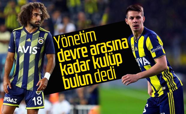 Fenerbahçe'de 3 futbolcu devre arası gidiyor