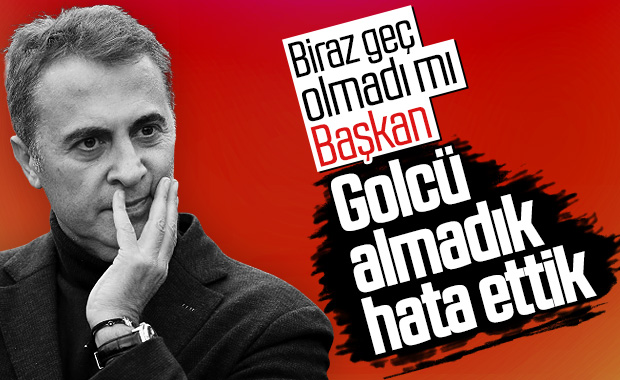 Beşiktaş'ta forvet pişmanlığı yaşanıyor