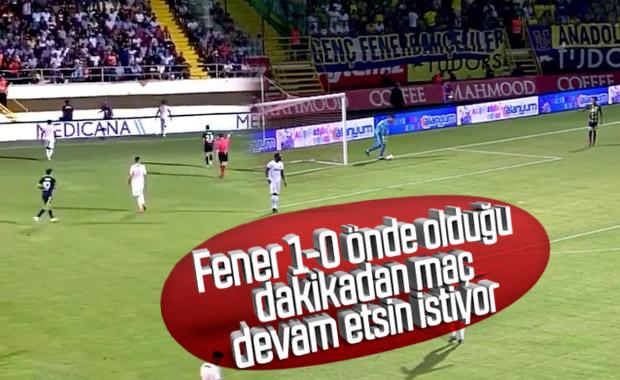 Fenerbahçe, Alanyaspor maçının tekrarı için başvurdu