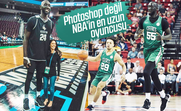 NBA'in en uzun oyuncusu: Tanrı beni kutsamış