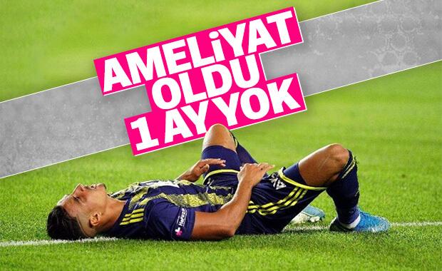 Fenerbahçe'de Dirar fıtık ameliyatı oldu