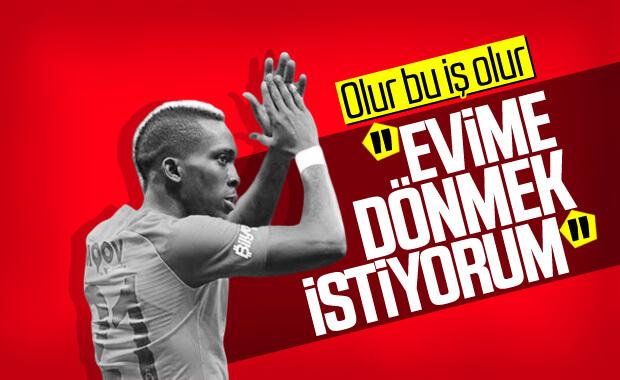 Onyekuru ilk kez Galatasaray'la ilgili konuştu