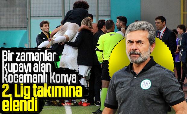 Konyaspor Türkiye Kupası'ndan elendi