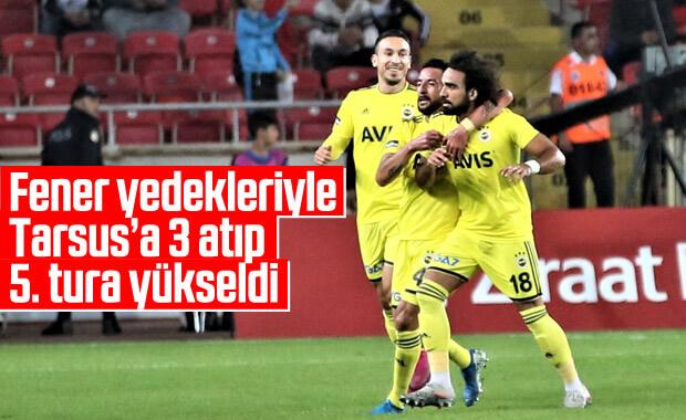 Fenerbahçe zorlanmadan tur atladı