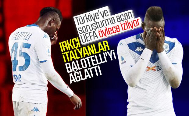 İtalya'da Balotelli'ye ırkçılık yaptılar