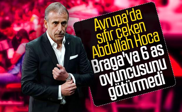 Beşiktaş'ta 6 as futbolcu kadroya alınmadı