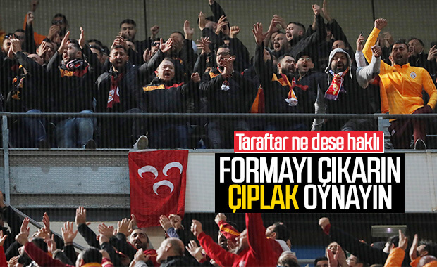 Galatasaray fark yedi, taraftar çıldırdı