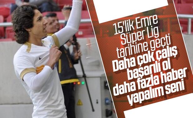 Emre Demir, Süper Lig'in en genç golcüsü