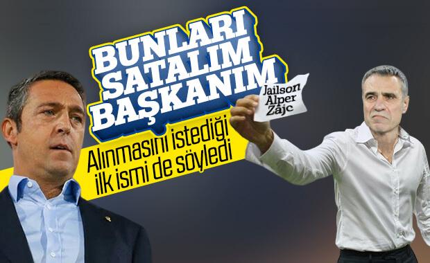Ersun Yanal'ın yönetime sunduğu transfer raporu