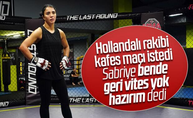 Sabriye Şengül, kafes dövüşünde Türkiye'yi temsil edecek