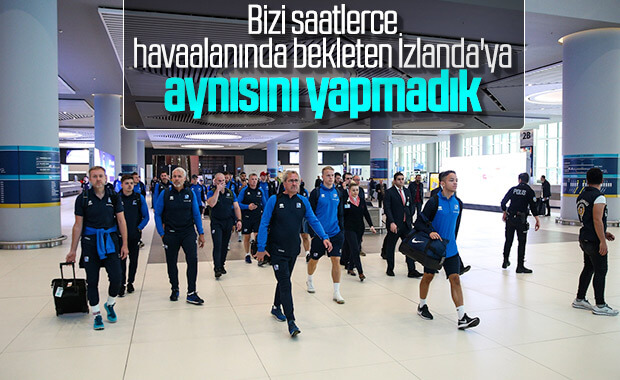Rakibimiz İzlanda, İstanbul'da