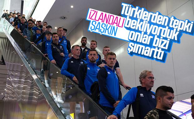 İzlandalılar karşılamadan çok memnun kaldı