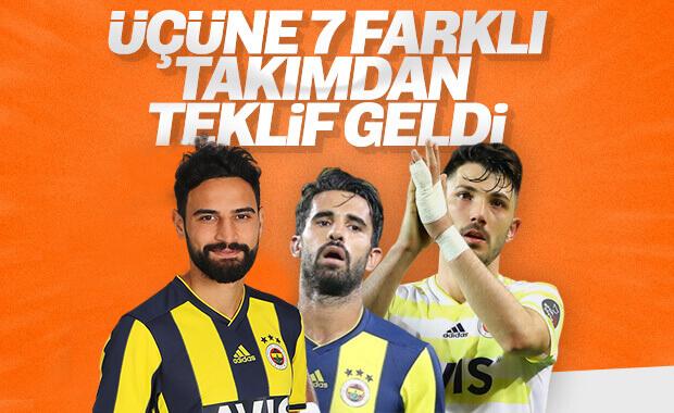 Alper, Mehmet ve Tolgay'a teklif yağıyor