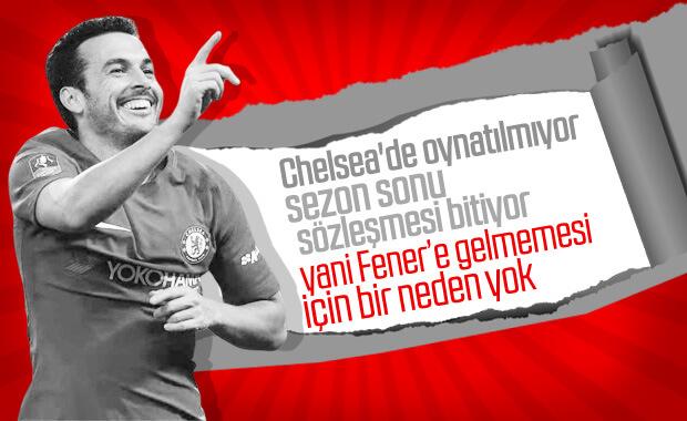 Fenerbahçe'den Pedro girişimi