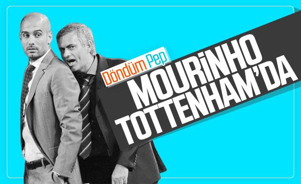 Jose Mourinho Tottenham'ın başına geçti