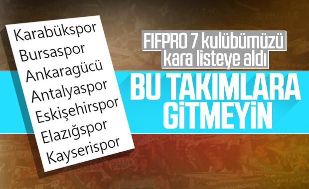 FIFPro'dan futbolculara Türkiye uyarısı