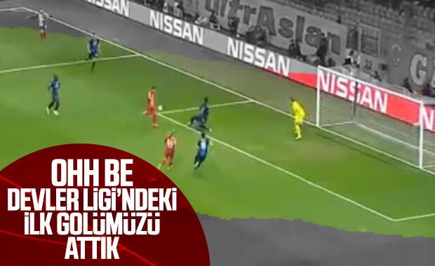 Galatasaray'ın ilk golü Adem'den geldi