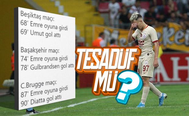 Emre Mor oyuna girince Galatasaray gol yiyor