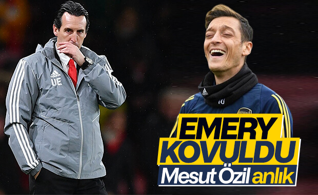 Arsenal, Emery'nin işine son verdi