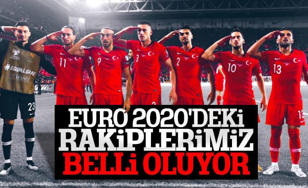 EURO 2020'de kura çekimi bugün