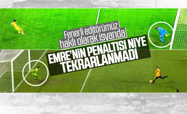 Fenerbahçelilerin isyan ettiği penaltı kararları