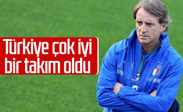 Mancini: Türkiye'nin çok kaliteli bir kadrosu var