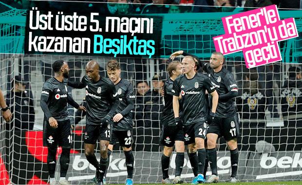 Beşiktaş, Kayserispor'u rahat yendi