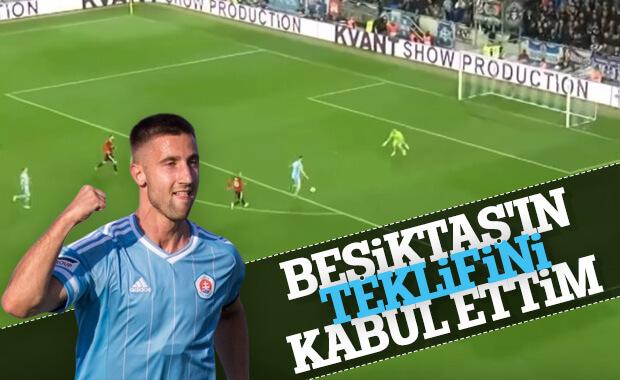 Sporar Beşiktaş'ın teklifini kabul etti