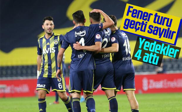 Fenerbahçe İstanbulspor'u zorlanmadan yendi