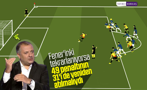 Mehmet Demirkol, tekrarlanan penaltıyı yorumladı
