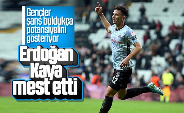 Erdoğan Kaya ilk maçında gol attı