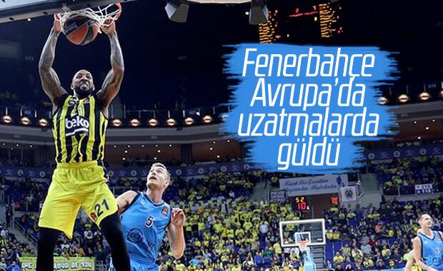 Fenerbahçe Avrupa'da galibiyeti uzatmalarda aldı