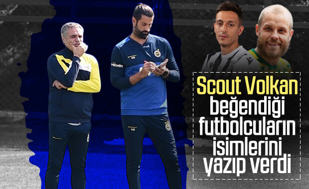 Volkan Demirel'in transfer raporu