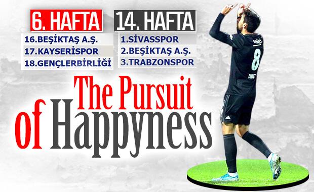 Beşiktaş, Umut'un golüyle kazandı ikinci sıraya yerleşti