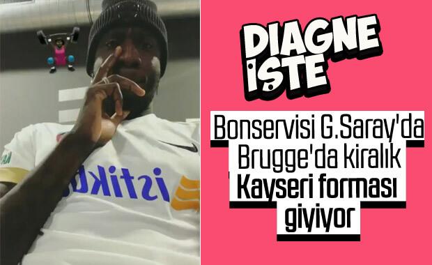 Mbaye Diagne'den Kayserispor formalı paylaşım