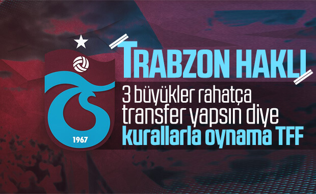 Trabzonspor, TFF'nin aldığı karara tepki gösterdi
