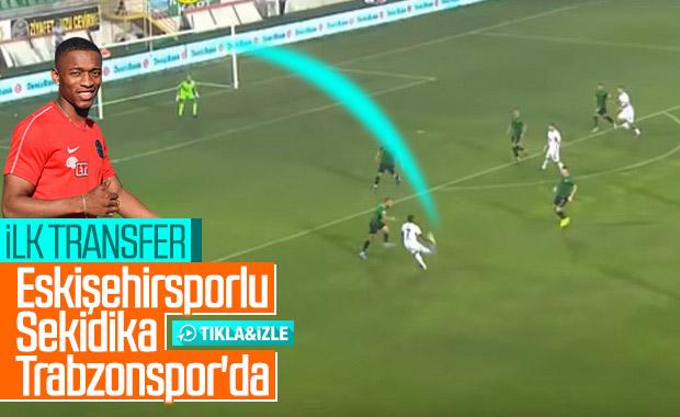 Trabzonspor, Jesse Sekidika'yla anlaştı