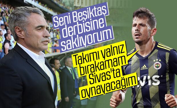 Emre Belözoğlu, Sivas maçında oynamak istiyor